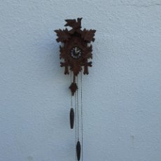 Relojes de pared: RELOJ DE CUCO O CUCÚ, DE LA SELVA NEGRA. Lote 209781877