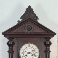 Relojes de pared: RELOJ DE PARED. SCHLENKER Y KIENZLE. ESTILO ALFONSINO. ALEMANIA. SIGLO XIX-XX.. Lote 210003515