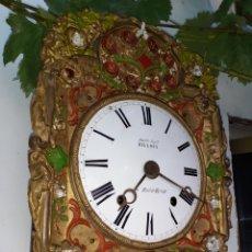 Relojes de pared: ANTIGUO RELOJ DE PENDULO REAL CON MOVIMIENTO EROTICO,CON CAMPANA Y BORDON,MUY RARO.. Lote 210143390