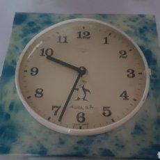 Relojes de pared: RELOJ PARED TITÁN PUBLICIDAD AGRA. Lote 210344640