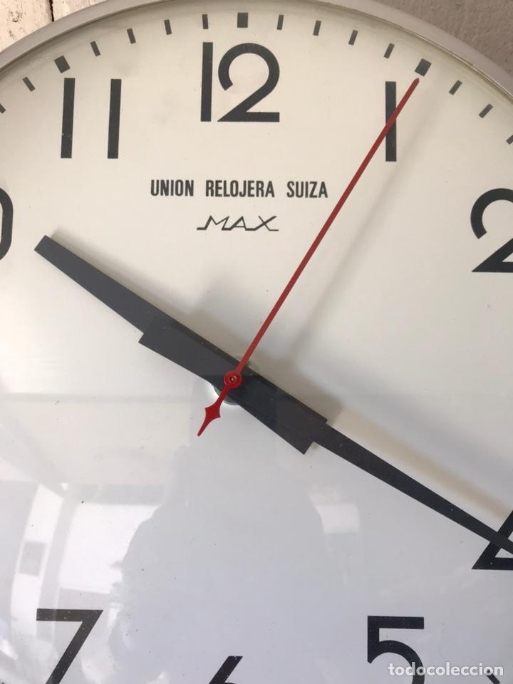 Relojes de pared: Reloj de la Unión Relojera Suiza Max, reloj de impulsos, máquina Westerstrander - Foto 3 - 222058206