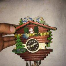 Relojes de pared: ANTIGUO RELOJ DE JUGUETE!ALEMAN!. Lote 210809751