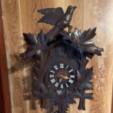 Relojes de pared: RELOJ CUCO ANTIGUO - MADERA - SELVA NEGRA - ALEMÁN. Lote 210962382