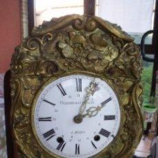 Relojes de pared: ¡¡GRAN OFERTA!!!ANTIGUA MAQUINARIA MOREZ PESAS -RESTAURAR O PIEZAS- AÑO 1870- FUNCIONAL- LOTE 287. Lote 211512290