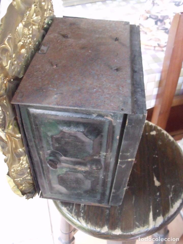 Relojes de pared: ¡¡GRAN OFERTA!!!antigua maquinaria MOREZ PESAS -restaurar o piezas- año 1870- funcional- lote 287 - Foto 6 - 211512290
