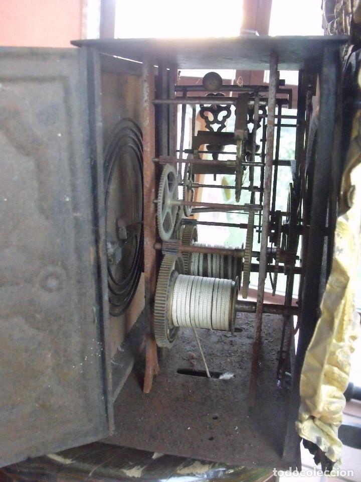 Relojes de pared: ¡¡GRAN OFERTA!!!antigua maquinaria MOREZ PESAS -restaurar o piezas- año 1870- funcional- lote 287 - Foto 9 - 211512290