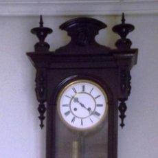 Relojes de pared: RELOJ DE PARED PENDULO SIGLO XIX - XX. Lote 211834731