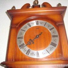 Relojes de pared: ANTIGUO RELOJ DE PENDULOS MARCA SARS. Lote 212531380