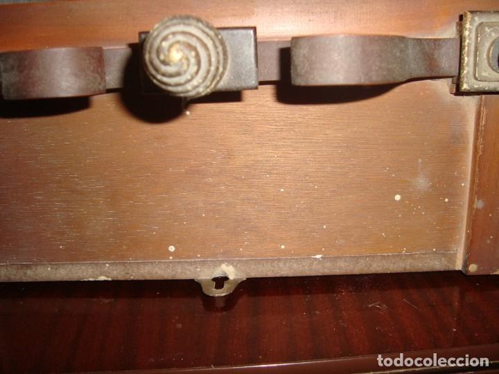 Relojes de pared: ANTIGUO RELOJ DE PENDULOS MARCA SARS - Foto 6 - 212531380
