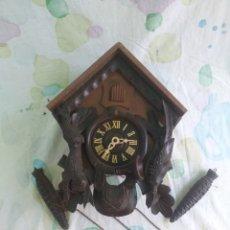 Relojes de pared: RELOJ SELVA NEGRA ,PEQUEÑO PARA DESPIECE O RESTAURAR. Lote 213285385