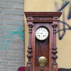 Relojes de pared: INCREÍBLE RELOJ ALFONSINO. Lote 213753585