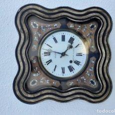 Relojes de pared: RELOJ MOREZ DEL SIGLO XIX, FUNCIONA. Lote 213973725