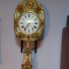 Relojes de pared: ANTIGUO RELOJ MOREZ -SIGLO XIX. Lote 213975141