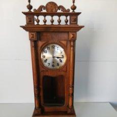 Relojes de pared: RELOJ CARRILLON NOGAL RESTAURADO. Lote 214004672
