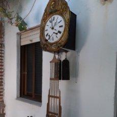 Relojes de pared: RELOJ DE PENDULO 7 VARILLAS, CALENDARIO...VER.FOTOS.. Lote 214047473