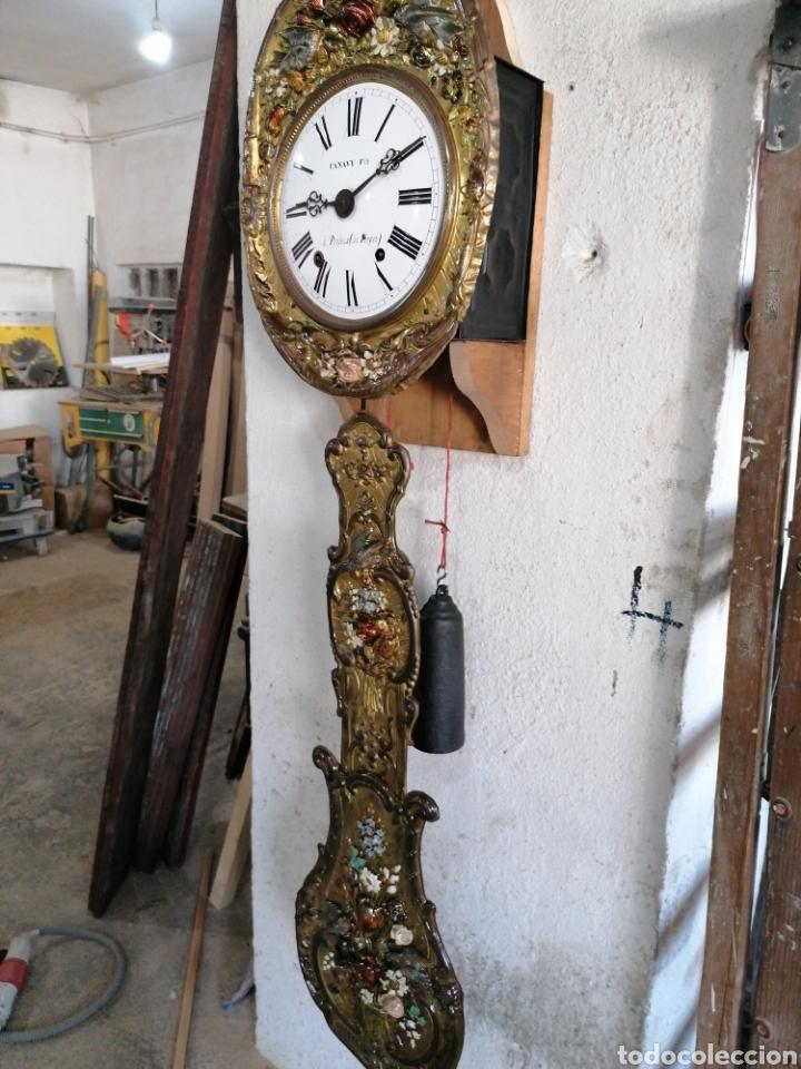 Relojes de pared: Reloj péndulo real con máquina more - Foto 2 - 214073001
