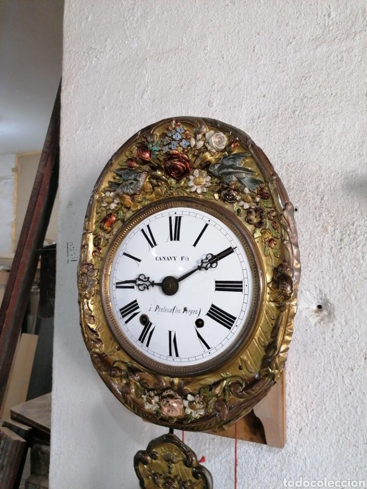 Relojes de pared: Reloj péndulo real con máquina more - Foto 3 - 214073001