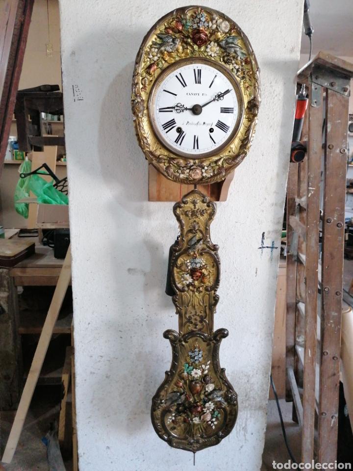 RELOJ PÉNDULO REAL CON MÁQUINA MORE (Relojes - Pared Carga Manual)