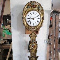 Relojes de pared: RELOJ PÉNDULO REAL CON MÁQUINA MORE. Lote 214073001