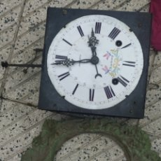 Relojes de pared: ANTIGUO RELOJ MOREZ CON CALENDARIO. Lote 214101943