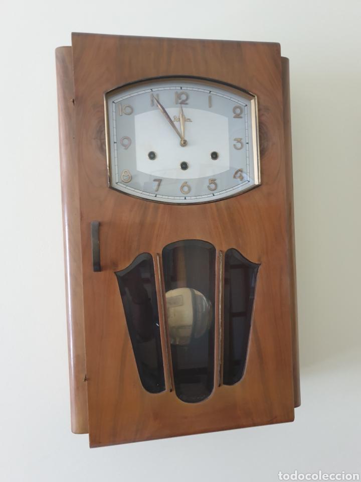 RELOJ PARED CARILLON MARCA. REGULADORA (Relojes - Pared Carga Manual)