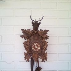 Relojes de pared: RELOJ DE CUCO. ALEMANIA. SELVA NEGRA. FUNCIONANDO.. Lote 216594700