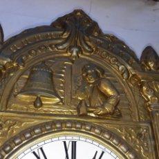 Relojes de pared: RELOJ DE MOVIMIENTO EN LA ESFERA, ESFERA DE CATEDRAL,FUNCIONANDO. Lote 216621791