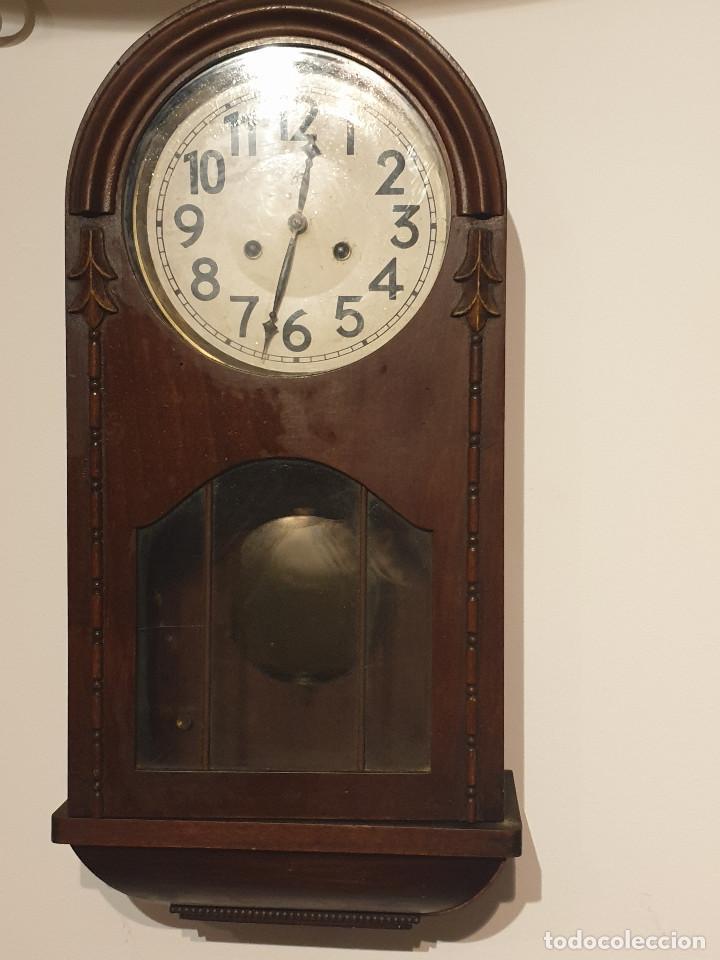 Relojes de pared: RELOJ DE PARED PENDULO - Foto 2 - 216825193