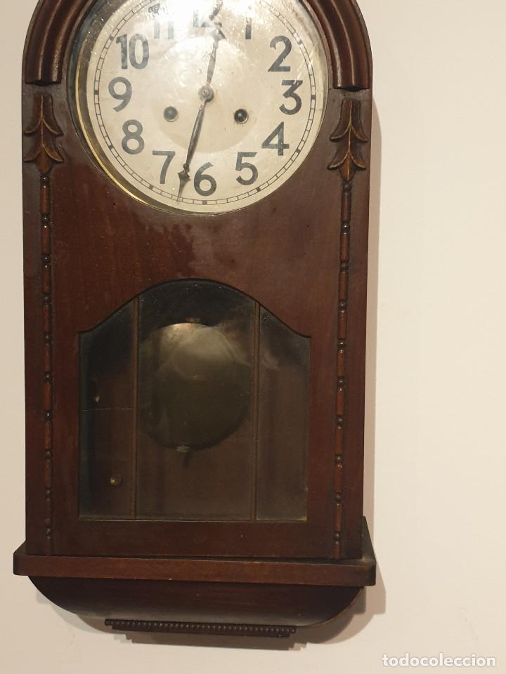 Relojes de pared: RELOJ DE PARED PENDULO - Foto 4 - 216825193