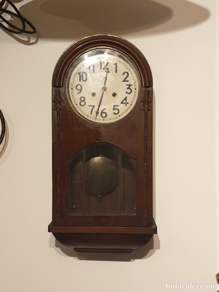 Relojes de pared: RELOJ DE PARED PENDULO - Foto 7 - 216825193