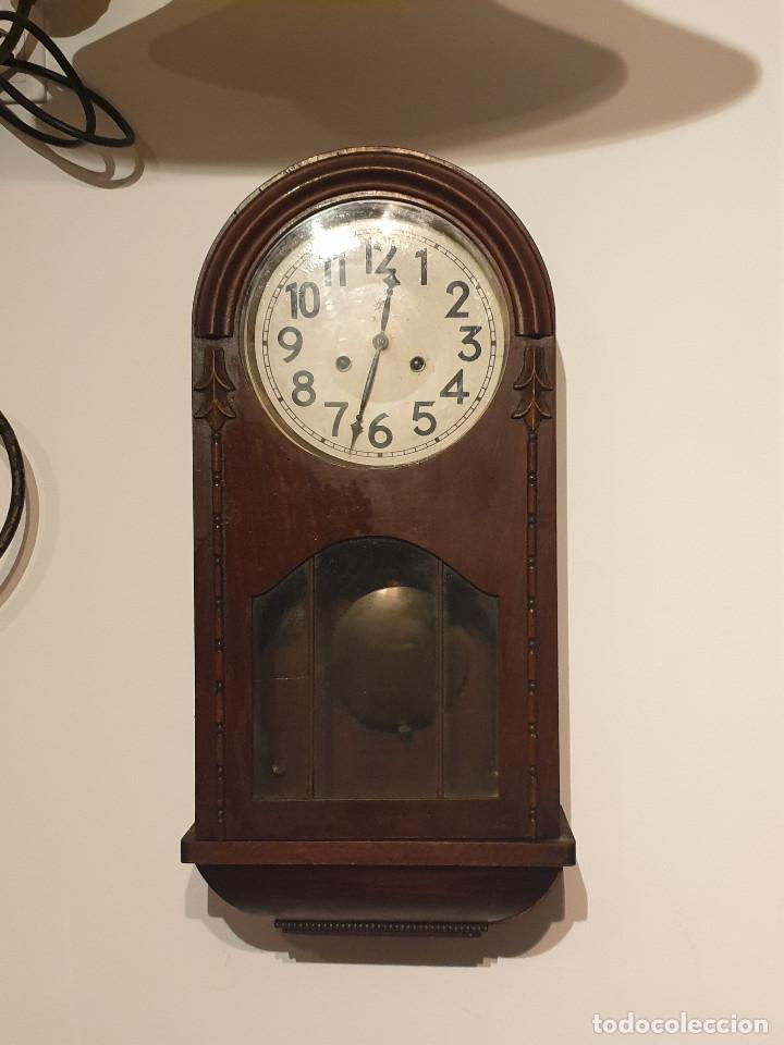 Relojes de pared: RELOJ DE PARED PENDULO - Foto 8 - 216825193