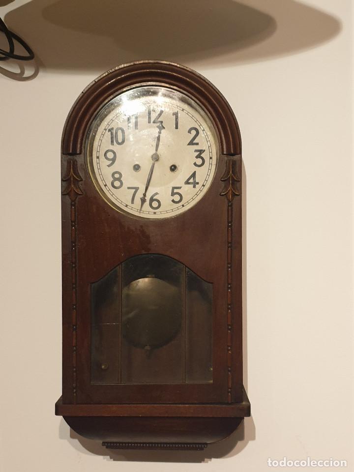 Relojes de pared: RELOJ DE PARED PENDULO - Foto 9 - 216825193