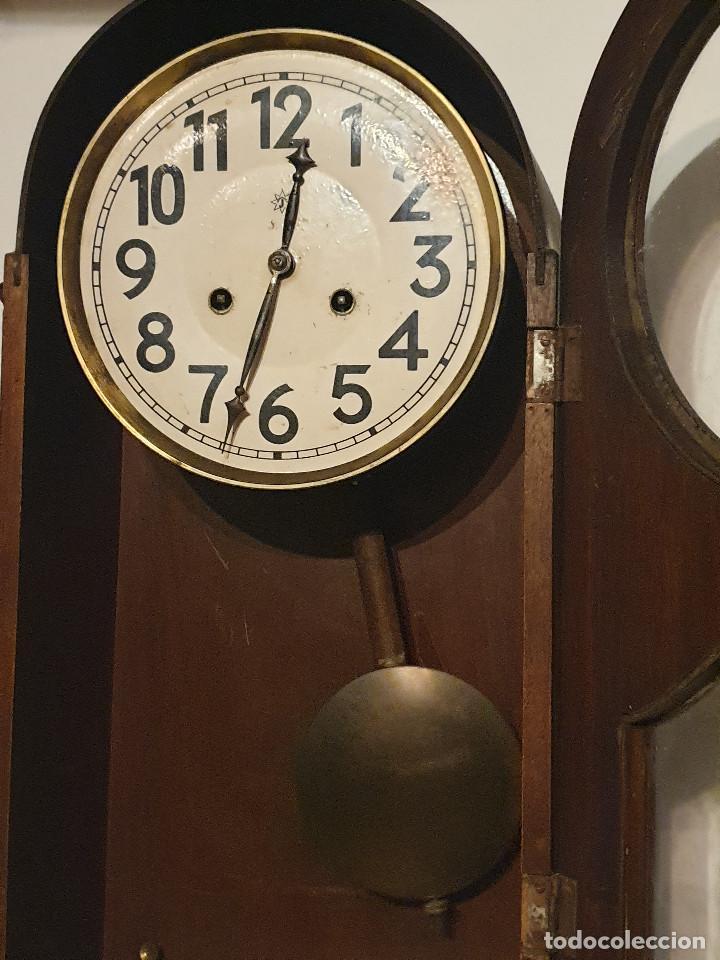 Relojes de pared: RELOJ DE PARED PENDULO - Foto 10 - 216825193