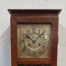 Relojes de pared: RELOJ DE PARED MODERNISTA. 1911 ADOLFO WINZER, SALAMANCA. PD. Lote 217067480