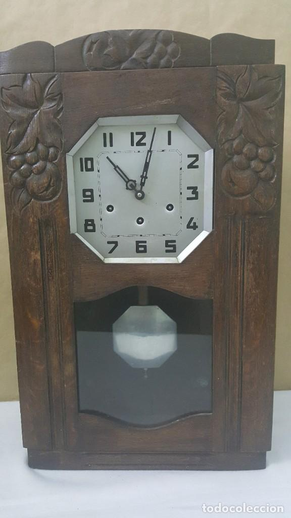RELOJ CARRILLON DE PARED (Relojes - Pared Carga Manual)