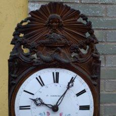 Orologi da parete: RELOJ NÁPOLEON LLL, CAMPANA GIGANTE DE BRONCE. Lote 217376865