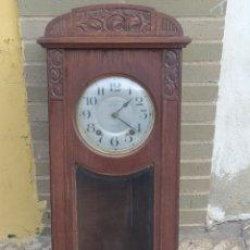 Orologi da parete: PRECIOSO RELOJ MÁQUINA MOREZ, FUNCIONANDO. Lote 217626852