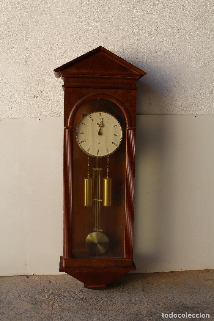 Relojes de pared: reloj de mared quartz marca kelmar - Foto 2 - 217663882