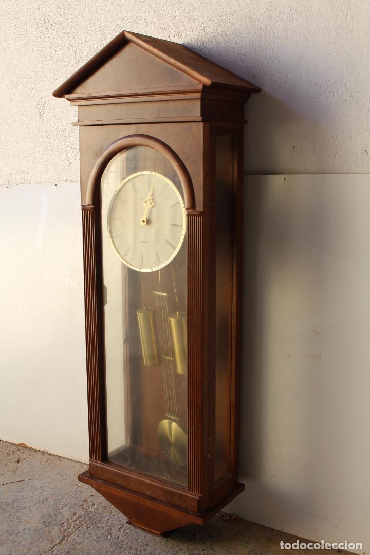 Relojes de pared: reloj de mared quartz marca kelmar - Foto 3 - 217663882