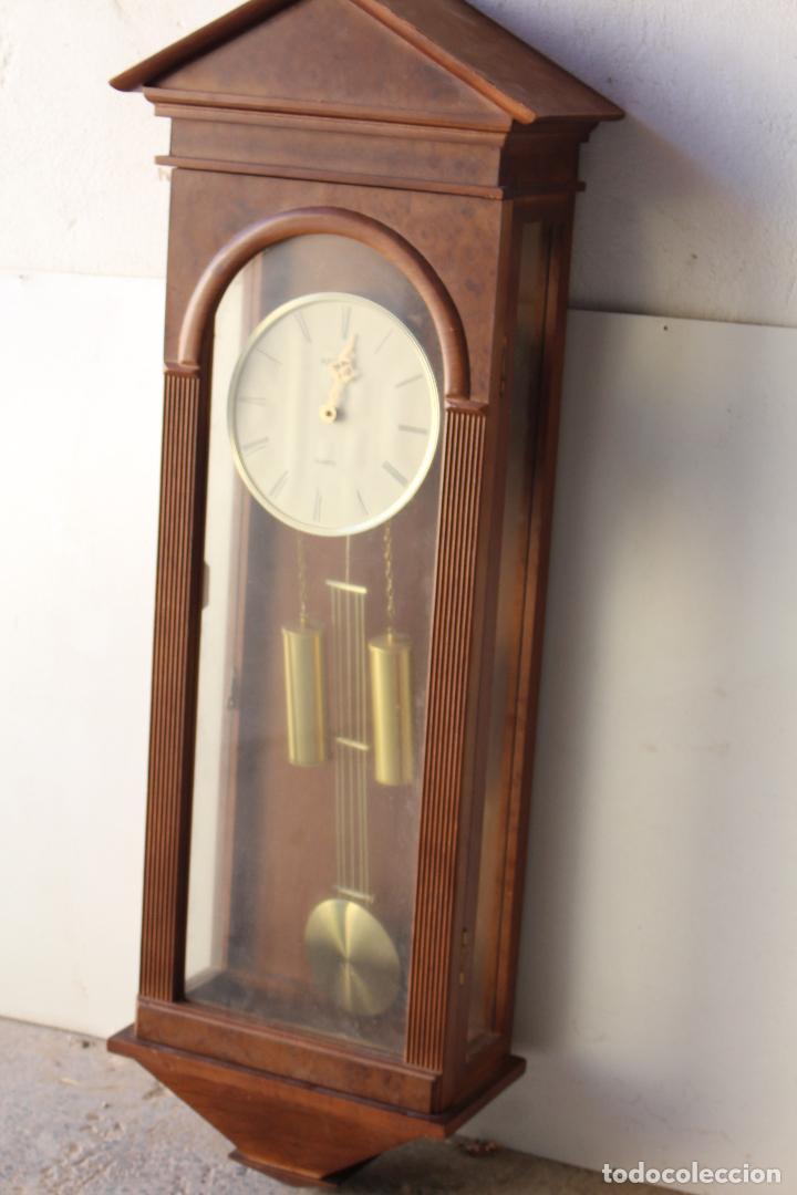 Relojes de pared: reloj de mared quartz marca kelmar - Foto 4 - 217663882