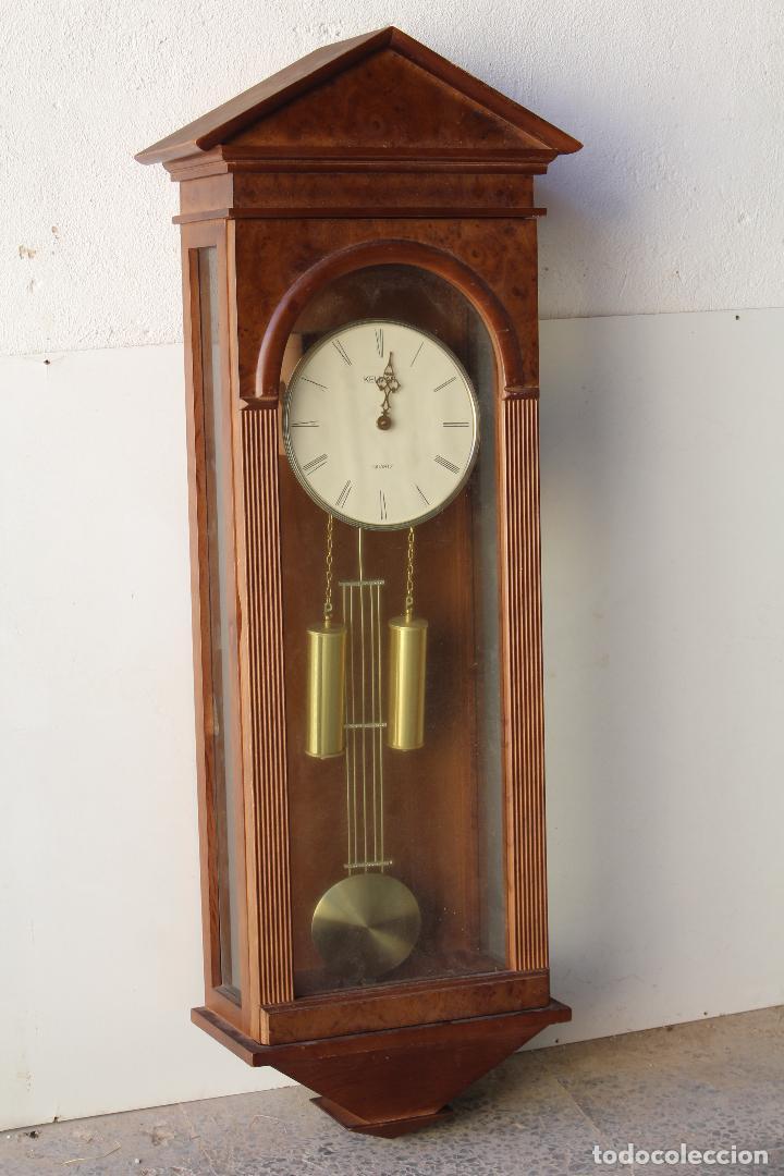 Relojes de pared: reloj de mared quartz marca kelmar - Foto 5 - 217663882