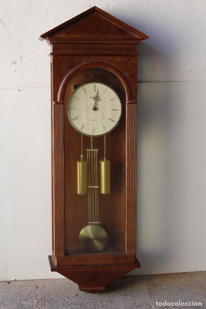 RELOJ DE MARED QUARTZ MARCA KELMAR (Relojes - Pared Carga Manual)
