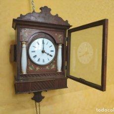 Relojes de pared: RELOJ DE PARED SELVA NEGRA CON COLUMNAS 1880 A 1915, 6000-093. Lote 43448950