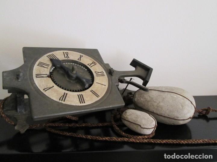 RARO RELOJ GRAMANS MADE IN ESPAIN AÑOS 60- 70 (Relojes - Pared Carga Manual)