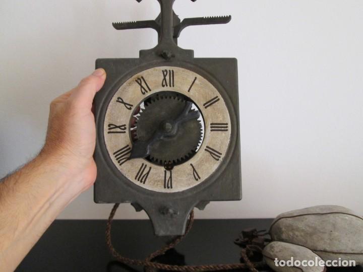 Relojes de pared: RARO RELOJ GRAMANS MADE IN ESPAIN AÑOS 60- 70 - Foto 2 - 217782208