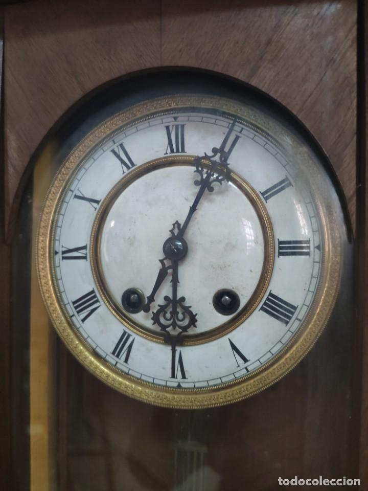 Relojes de pared: RELOJ DE PARED CON PÉNDULO SIGLO XX, 6000-070C - Foto 4 - 217844086