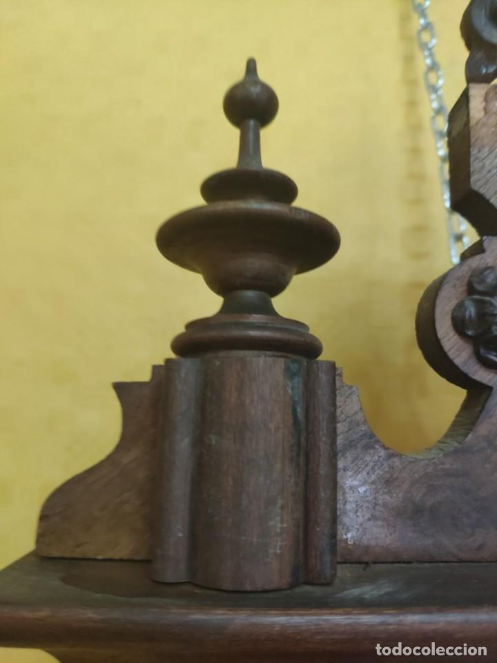 Relojes de pared: RELOJ DE PARED CON PÉNDULO SIGLO XX, 6000-070C - Foto 12 - 217844086