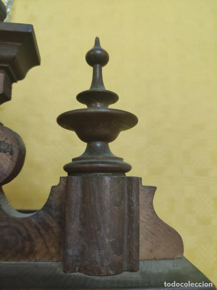 Relojes de pared: RELOJ DE PARED CON PÉNDULO SIGLO XX, 6000-070C - Foto 13 - 217844086