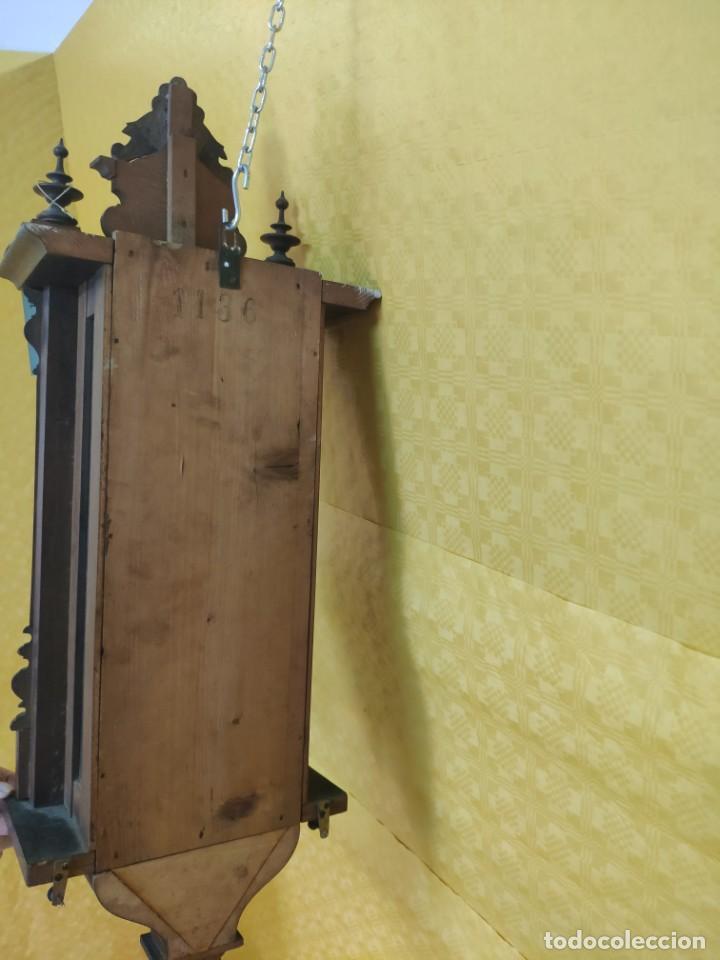 Relojes de pared: RELOJ DE PARED CON PÉNDULO SIGLO XX, 6000-070C - Foto 21 - 217844086