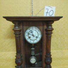 Relojes de pared: RELOJ DE SOBREMESA CON PÉNDULO SIGLO XX, 6000-070A. Lote 43449481